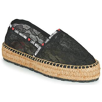 Zapatos Mujer Alpargatas Love Moschino JA10373G1C Negro