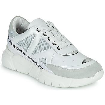 Zapatos Mujer Zapatillas bajas Love Moschino JA15323G1C Blanco