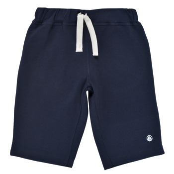 textil Niño Shorts / Bermudas Petit Bateau LAVIEN Marino