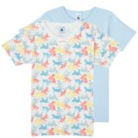 textil Niño Camisetas manga corta Petit Bateau MANUR Multicolor