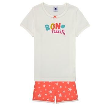 textil Niña Pijama Petit Bateau MARSHA Multicolor