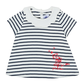 textil Niña Camisetas manga corta Petit Bateau MELIANE Multicolor