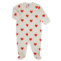 textil Niña Pijama Petit Bateau MESCOEURS Blanco