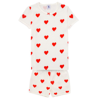 textil Niña Pijama Petit Bateau MICOURT Multicolor