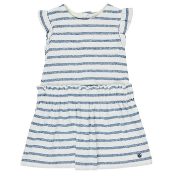 textil Niña Vestidos cortos Petit Bateau MILANAIS Multicolor