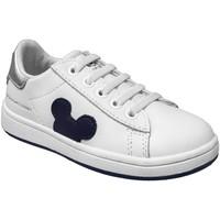Zapatos Niño Zapatillas bajas Disney Mdj416 Blanco, Blanca