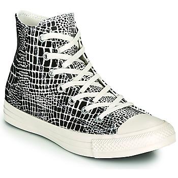 Zapatos Mujer Zapatillas altas Converse CHUCK TAYLOR ALL STAR DIGITAL DAZE HI Negro / Beige