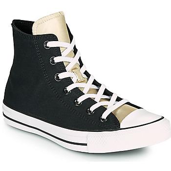Zapatos Mujer Zapatillas altas Converse CHUCK TAYLOR ALL STAR ANODIZED METALS HI Negro