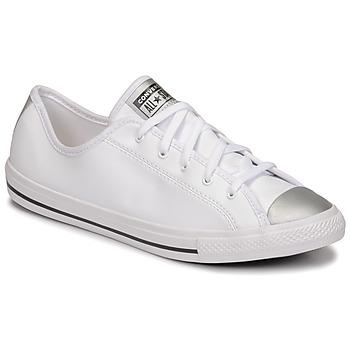 Zapatos Mujer Zapatillas bajas Converse CHUCK TAYLOR ALL STAR DAINTY ANODIZED METALS OX Blanco