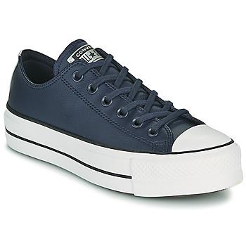 Zapatos Mujer Zapatillas bajas Converse CHUCK TAYLOR ALL STAR LIFT ANODIZED METALS OX Azul
