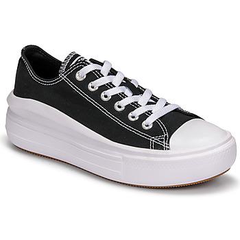 Zapatos Mujer Zapatillas bajas Converse CHUCK TAYLOR ALL STAR MOVE CANVAS COLOR OX Negro