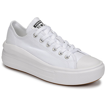 Zapatos Mujer Zapatillas bajas Converse CHUCK TAYLOR ALL STAR MOVE CANVAS COLOR OX Blanco