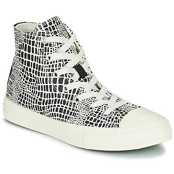 Zapatos Niña Zapatillas altas Converse CHUCK TAYLOR ALL STAR DIGITAL DAZE HI Negro / Blanco