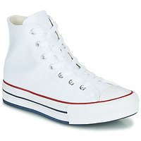 Zapatos Niña Zapatillas altas Converse CHUCK TAYLOR ALL STAR EVA LIFT CANVAS COLOR HI Blanco