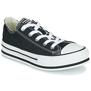 Zapatos Niña Zapatillas bajas Converse CHUCK TAYLOR ALL STAR EVA LIFT EVERYDAY EASE OX Negro
