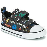 Zapatos Niño Zapatillas bajas Converse CHUCK TAYLOR ALL STAR 2V BOYS GAMER OX Negro / Multicolor
