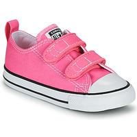 Zapatos Niña Zapatillas bajas Converse CHUCK TAYLOR ALL STAR 2V  OX Rosa