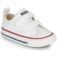 Zapatos Niños Zapatillas bajas Converse CHUCK TAYLOR ALL STAR 2V FOUNDATION OX Blanco