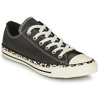 Zapatos Mujer Zapatillas bajas Converse CHUCK TAYLOR ALL STAR ARCHIVE DETAILS OX Negro / Leopardo