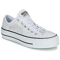 Zapatos Mujer Zapatillas bajas Converse CHUCK TAYLOR ALL STAR LIFT BREATHABLE OX Blanco