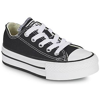 Zapatos Niña Zapatillas bajas Converse CHUCK TAYLOR ALL STAR EVA PLATFORM FOUNDATION OX Negro