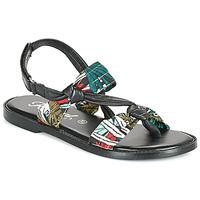 Zapatos Mujer Sandalias Kaporal EVALOU Negro / Multicolor