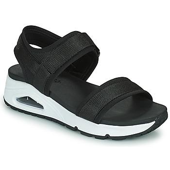Zapatos Mujer Sandalias Skechers UNO Negro