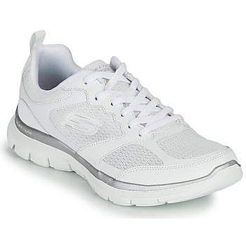 Zapatos Mujer Fitness / Training Skechers FLEX APPEAL 4.0 Blanco