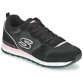Zapatos Mujer Zapatillas bajas Skechers OG 85 Negro / Rosa