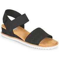 Zapatos Mujer Sandalias Skechers DESERT KISS Negro