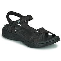 Zapatos Mujer Sandalias de deporte Skechers ON THE GO 600 Negro