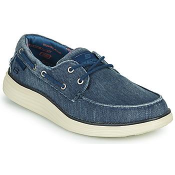 Zapatos Hombre Zapatos náuticos Skechers STATUS 2.0 LORANO Marino