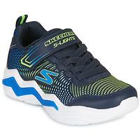 Zapatos Niño Zapatillas bajas Skechers ERUPTERS IV Marino / Verde