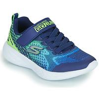Zapatos Niño Zapatillas bajas Skechers GO RUN 600 Azul / Verde