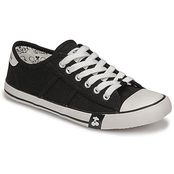 Zapatos Mujer Zapatillas bajas Le Temps des Cerises EASY Negro