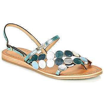 Zapatos Mujer Sandalias Les Tropéziennes par M Belarbi HOLO Plateado / Azul