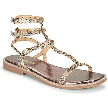 Zapatos Mujer Sandalias Les Tropéziennes par M Belarbi COROL Beige / Serpiente