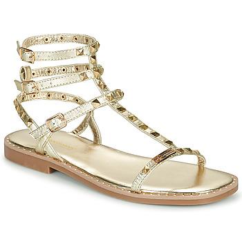 Zapatos Mujer Sandalias Les Tropéziennes par M Belarbi CORALIE Oro