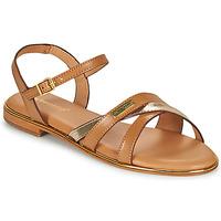 Zapatos Mujer Sandalias Les Tropéziennes par M Belarbi HEXANE Marrón / Oro