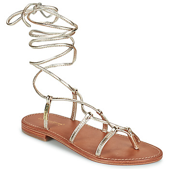 Zapatos Mujer Sandalias Les Tropéziennes par M Belarbi HELLEN Oro