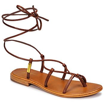 Zapatos Mujer Sandalias Les Tropéziennes par M Belarbi HELLEN Marrón