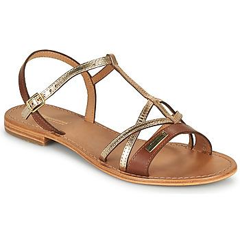 Zapatos Mujer Sandalias Les Tropéziennes par M Belarbi HIRONELA Tan / Plata