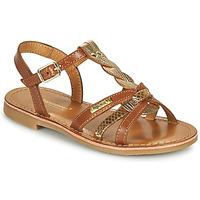 Zapatos Niña Sandalias Les Tropéziennes par M Belarbi BADAMI Camel / Dorado