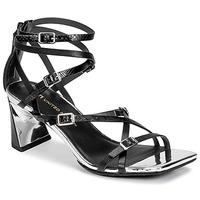 Zapatos Mujer Sandalias United nude MOLTEN STRAPPY MID Negro