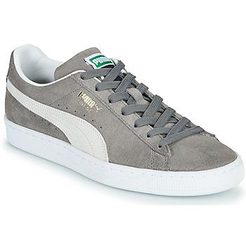 Zapatos Zapatillas bajas Puma SUEDE Gris