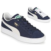 Zapatos Zapatillas bajas Puma SUEDE Azul