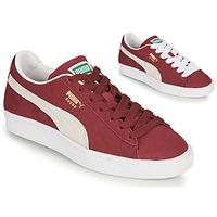 Zapatos Zapatillas bajas Puma SUEDE Burdeo