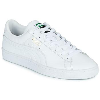 Zapatos Hombre Zapatillas bajas Puma CLASSIC Blanco