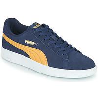 Zapatos Hombre Zapatillas bajas Puma SMASH Azul / Beige
