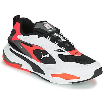 Zapatos Hombre Zapatillas bajas Puma RS FAST Blanco / Negro / Rojo
